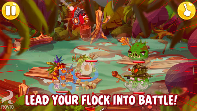 Angry Birds Epic screenshot
