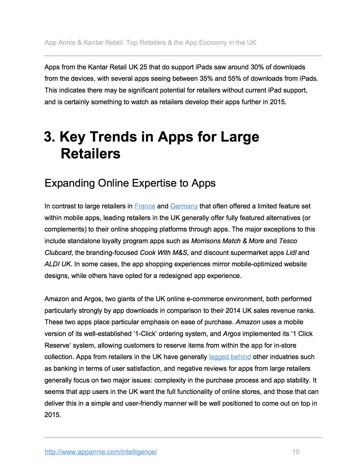 App Annie and Kantar Retail Explore the UK's Retail App