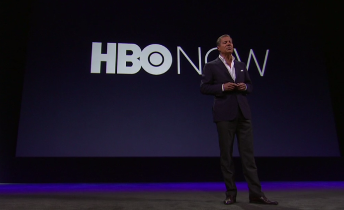 HBO NOW at Apple Event