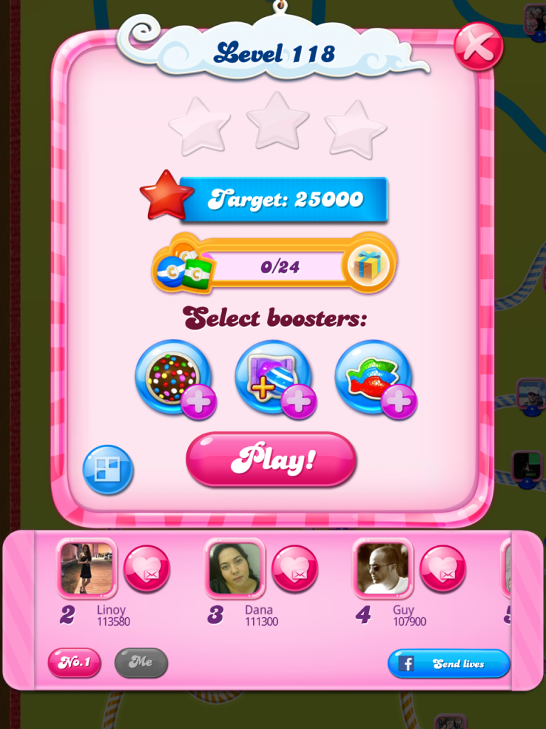 Candy Crush Saga appeals to achievers