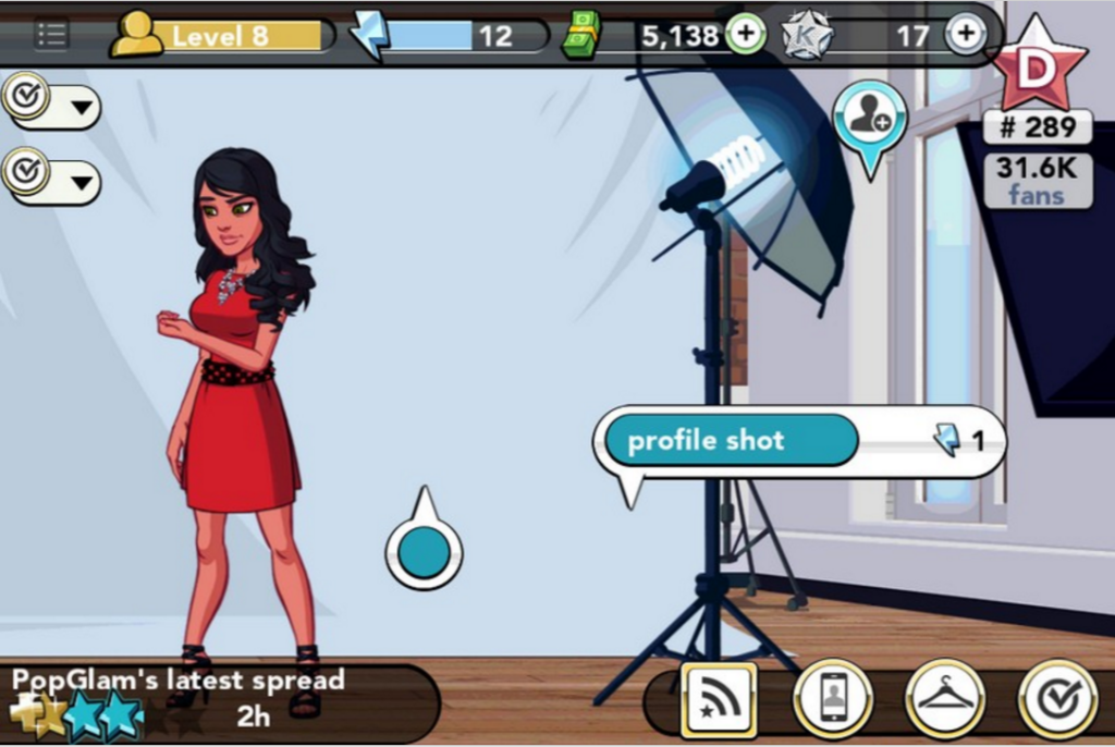 Events in Kim Kardashian Hollywood take several sessions