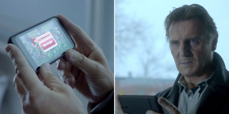 Clash of Clans TV Super Bowl Ad Liam Neeson