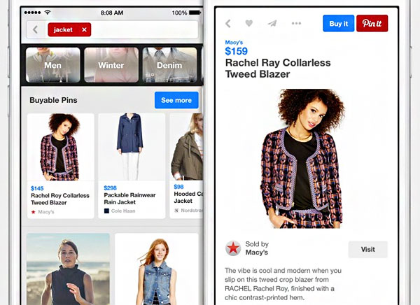 Pinterest Buy It Button Commerce