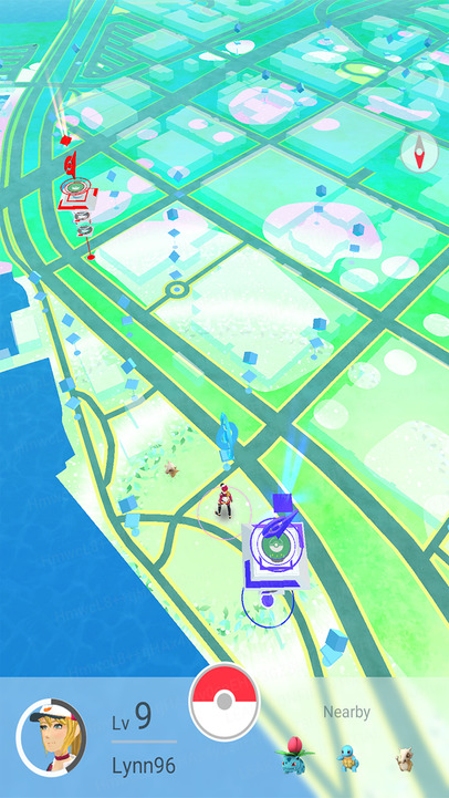 Pokemon GO City Map