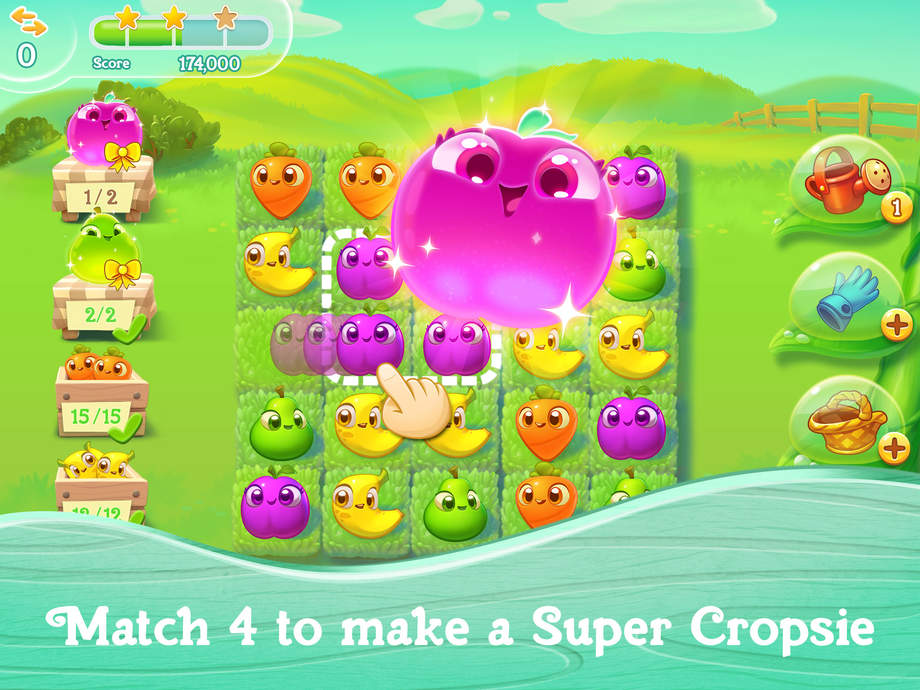 Super Cropsie Farm Heroes Super Saga