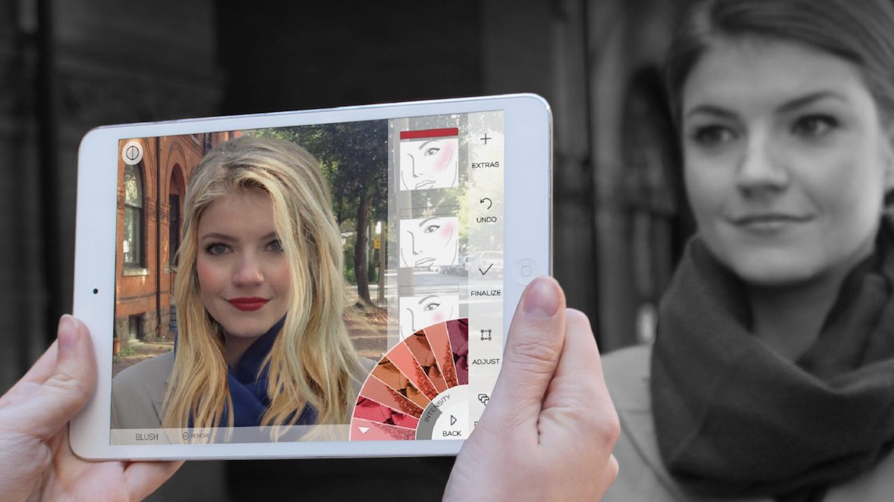 Augmented Reality Comes to Beauty Apps