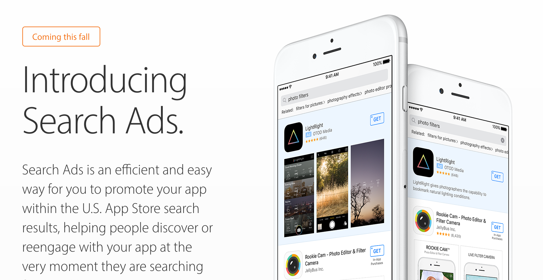 Search Ads App Store Apple