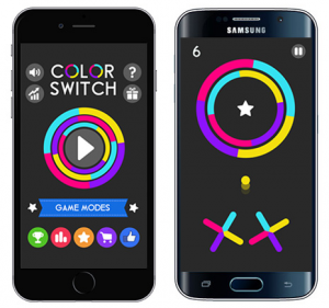 Color Switch App Screenshots